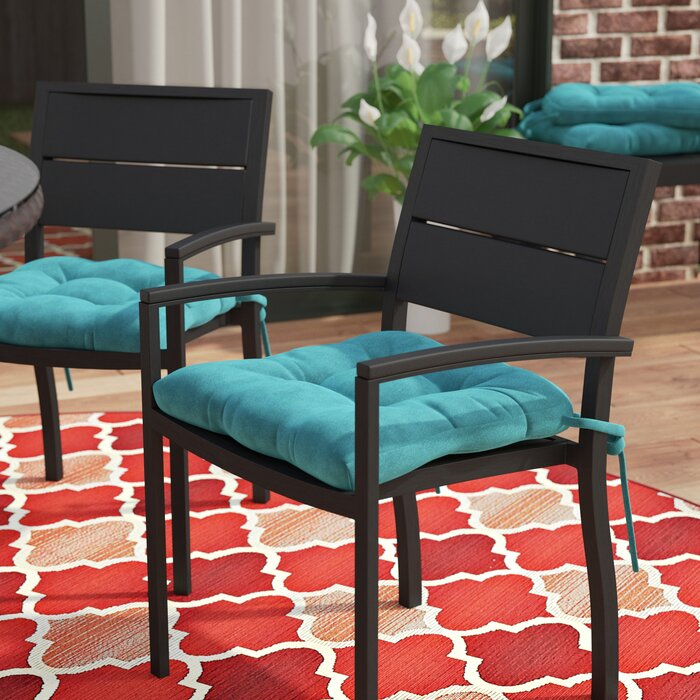 f34a1830998 Andover Mills Indoor Outdoor Dining Chair Cushion   Reviews