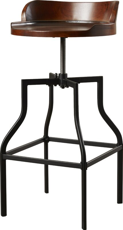 Essonnes Adjustable Height Swivel Bar Stool Amp Reviews