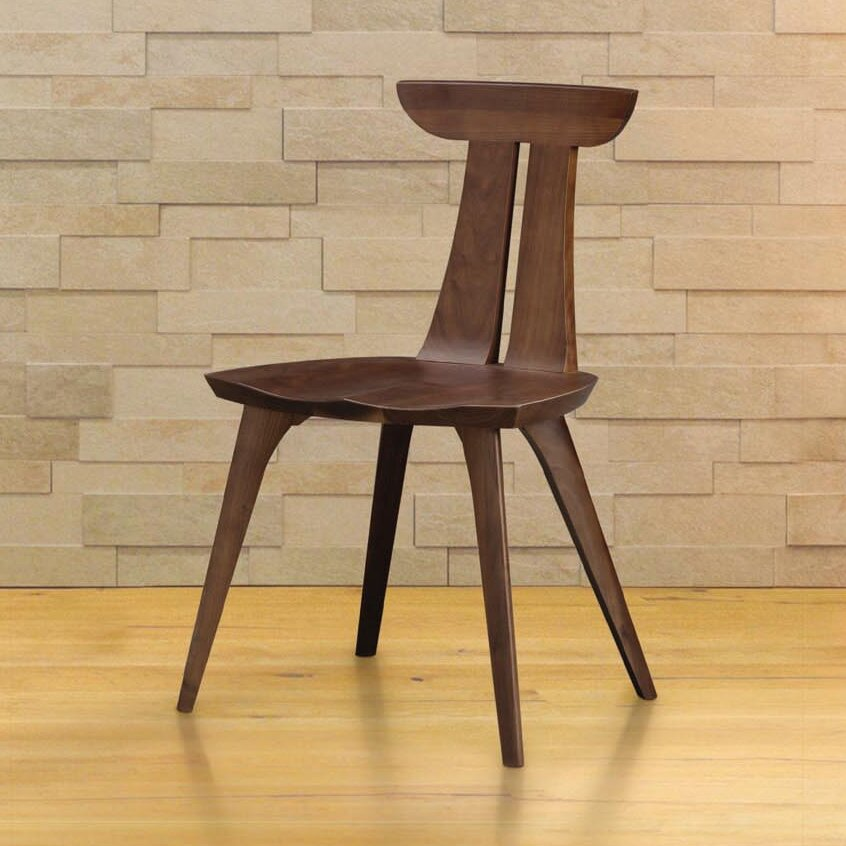 Amazing Copeland Furniture Estelle Solid Wood Dining Chair Short Links Chair Design For Home Short Linksinfo