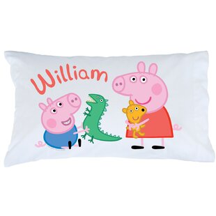 Peppa pig table wayfair peppa pig and george pillowcase aloadofball Choice Image
