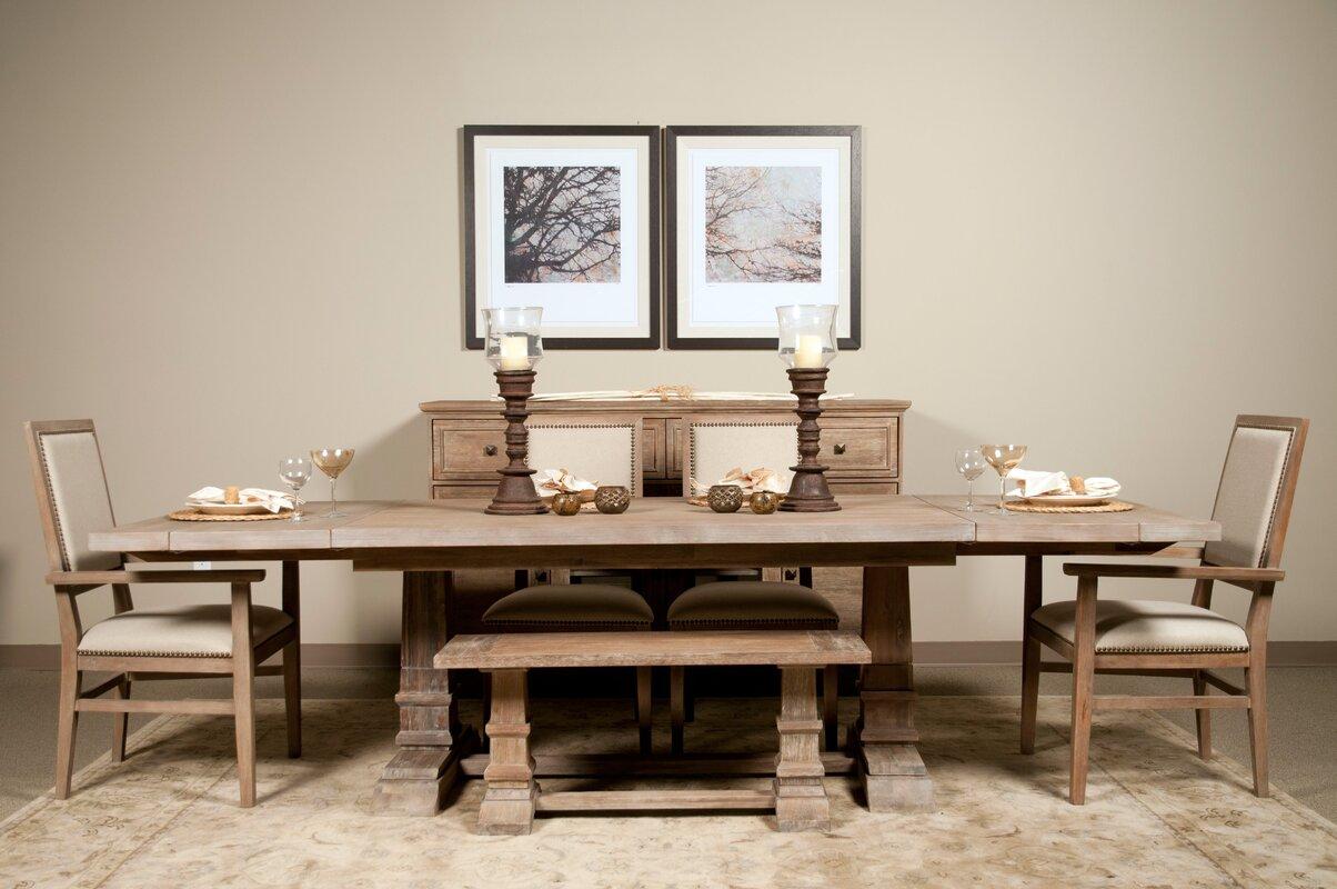Adams Extension Dining Table & Reviews | Joss & Main