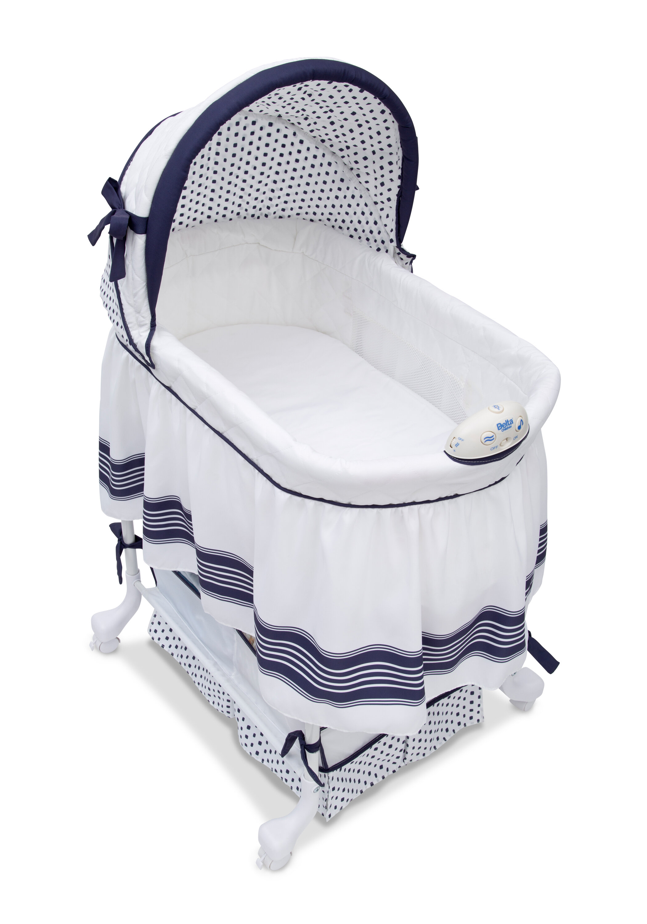 f4378e19446b Delta Children Smooth Glide Bassinet   Reviews