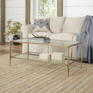 Safire Double Shelf Coffee Table