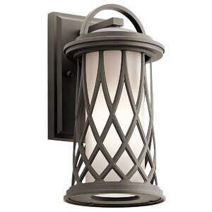 Domingo 1-Light Outdoor Wall Lantern