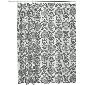 brown and gray shower curtain. Damask Shower Curtain Gray  Silver Curtains You ll Love Wayfair