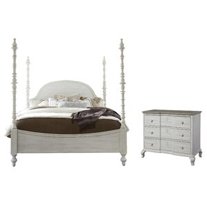 Four Poster Bedroom Sets You\'ll Love | Wayfair