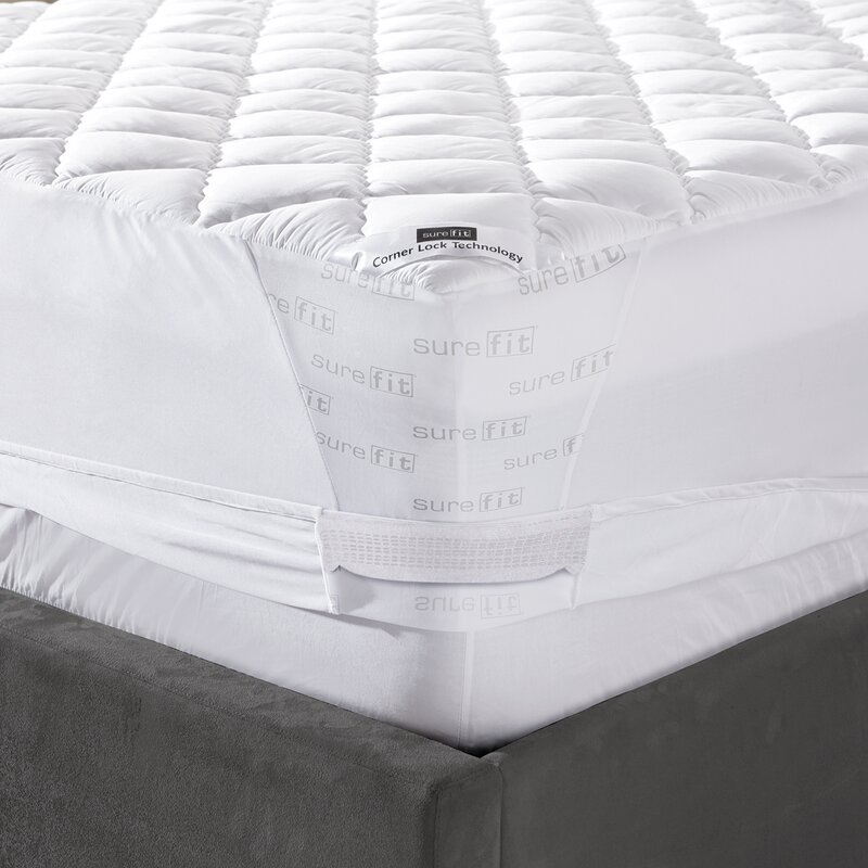 default_name - Sure Fit Twin Memory Foam Mattress Pad & Reviews Wayfair