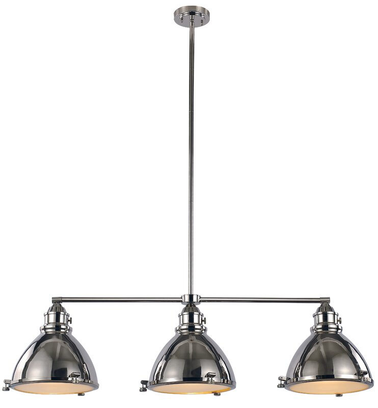 dewey 3 light kitchen island pendant laurel foundry modern farmhouse dewey 3 light kitchen island      rh   wayfair com
