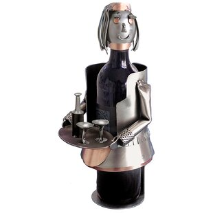 French Maid 1 Bottle Tabletop Wine Rack