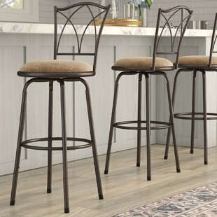 Frankfort Adjule Swivel Bar Stool Set Of 3