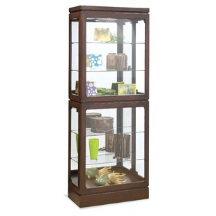 Breckenridge I Lighted Curio Cabinet