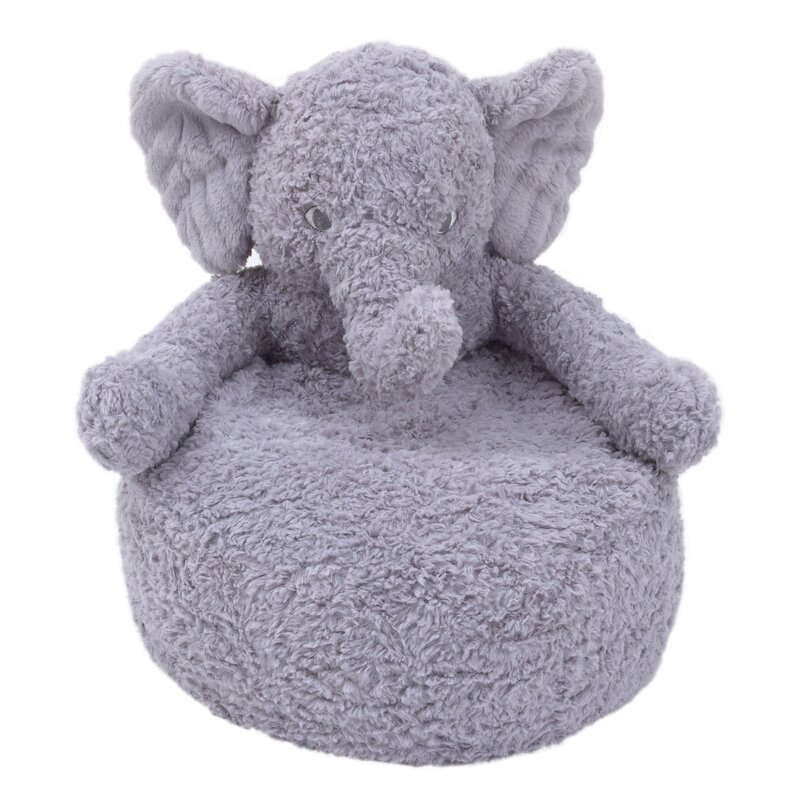 Beautiful Webster Cuddle Plush Kids Chair