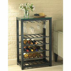 25 Bottle Floor Wine Rack by TAG
