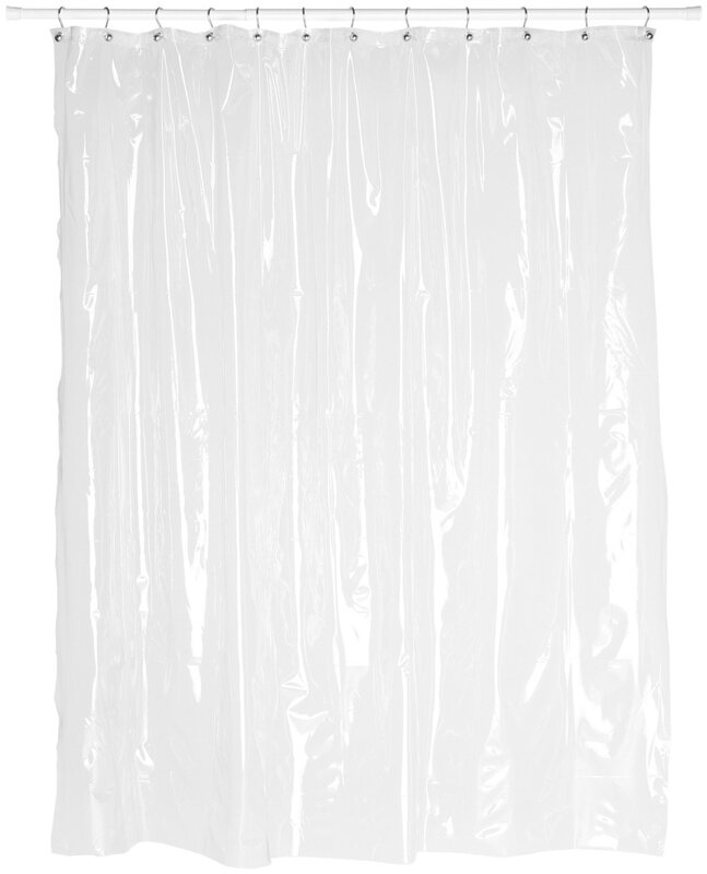 Symple Stuff Vinyl Shower Curtain Liner Amp Reviews Wayfair