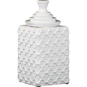 Square Ceramic Bottle