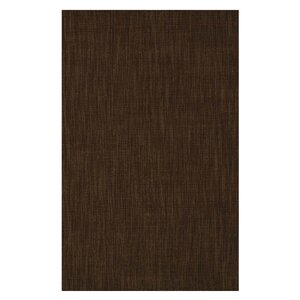 Hand-Tufted Chocolate Area Rug
