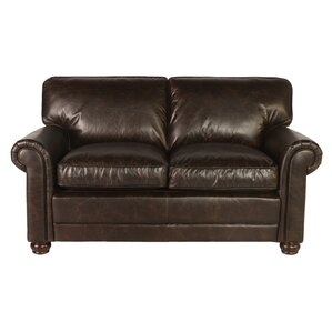 Genesis Leather Loveseat by Lazzaro Leather