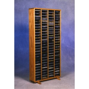 400 Series 320 CD Multimedia Storage Rack by Wood Shed