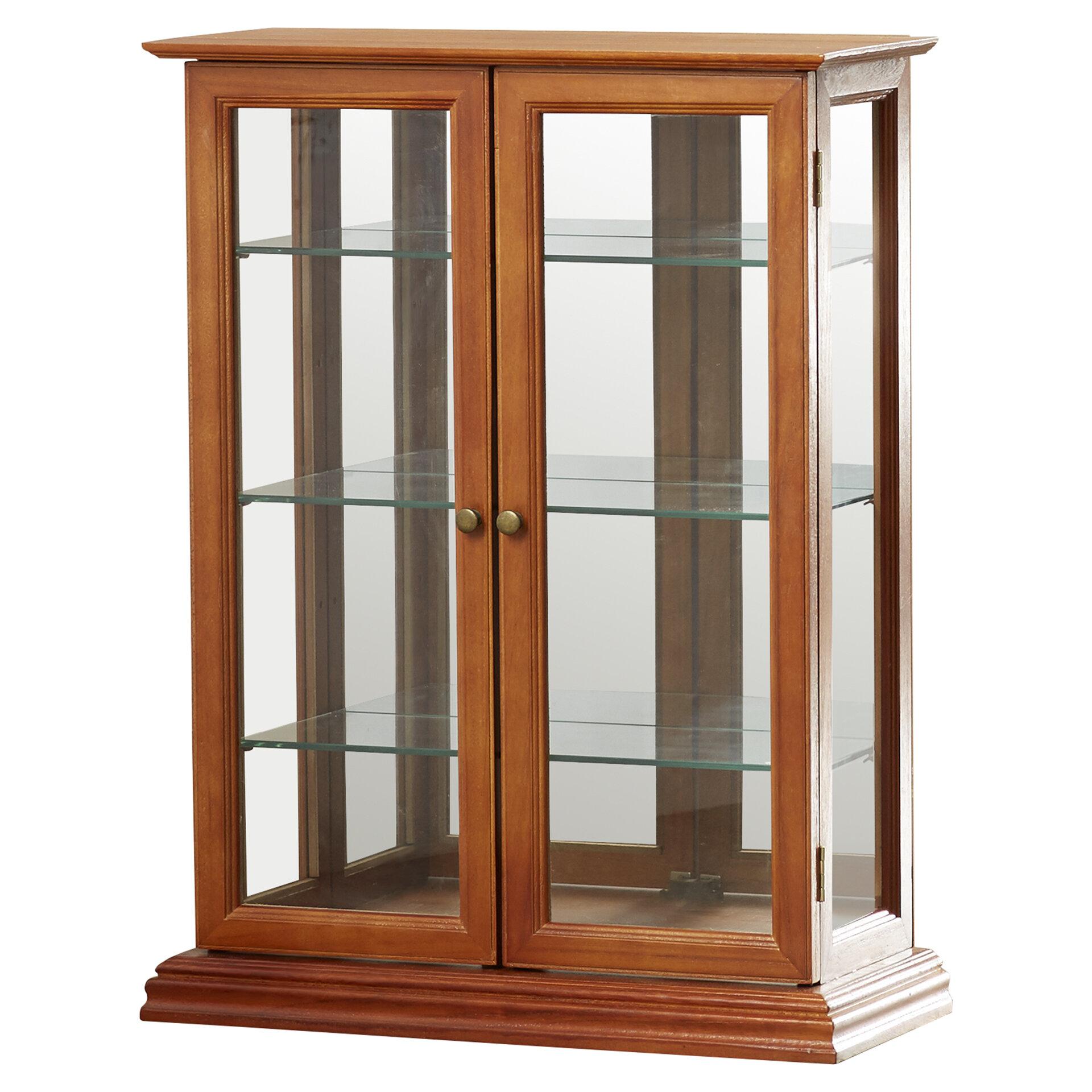 denya wall mounted curio cabinet reviews allmodern rh allmodern com wall mounted curio cabinet uk wall mounted curio cabinet with glass doors