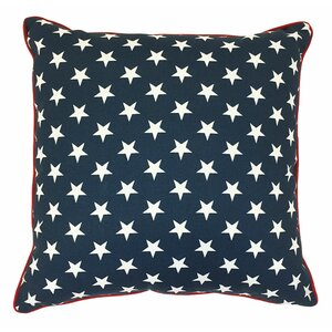 Piped Zip Outdoor Throw Pillow