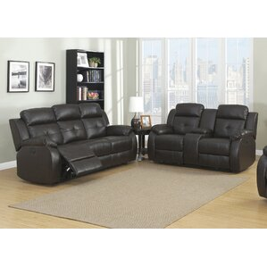 AC Pacific Troy 2 Piece Living Room Set