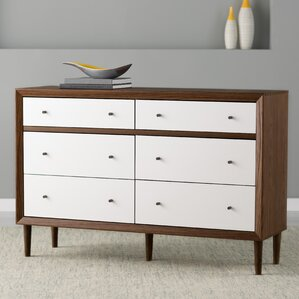 Sunset 6 Drawer Dresser by Langley Street