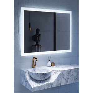 LED Lighted Mirror  sc 1 st  Wayfair & Mirrors with Lights Youu0027ll Love | Wayfair azcodes.com