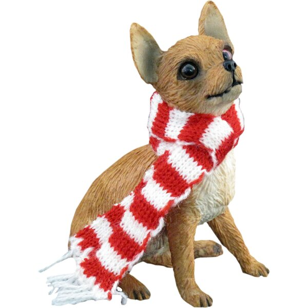 Sandicast Tan Chihuahua Christmas Ornament & Reviews | Wayfair.ca