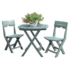 3piece erin patio bistro set