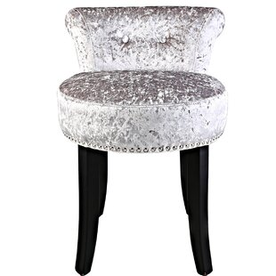 Achille Roll Back Dressing Table Stool