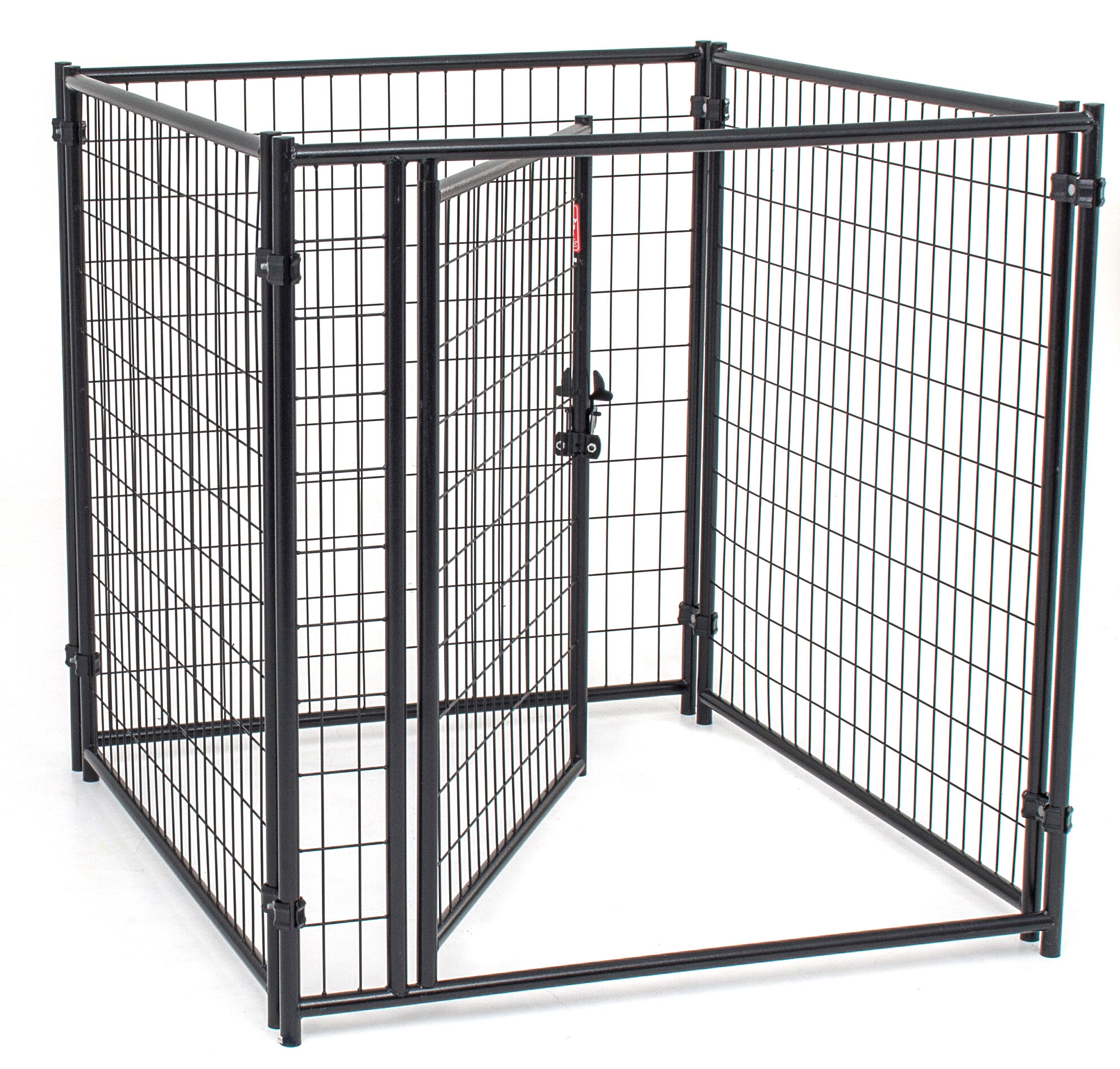 Jewett Cameron Lucky Dog™ Modular Welded Wire Kennel Kit | Wayfair