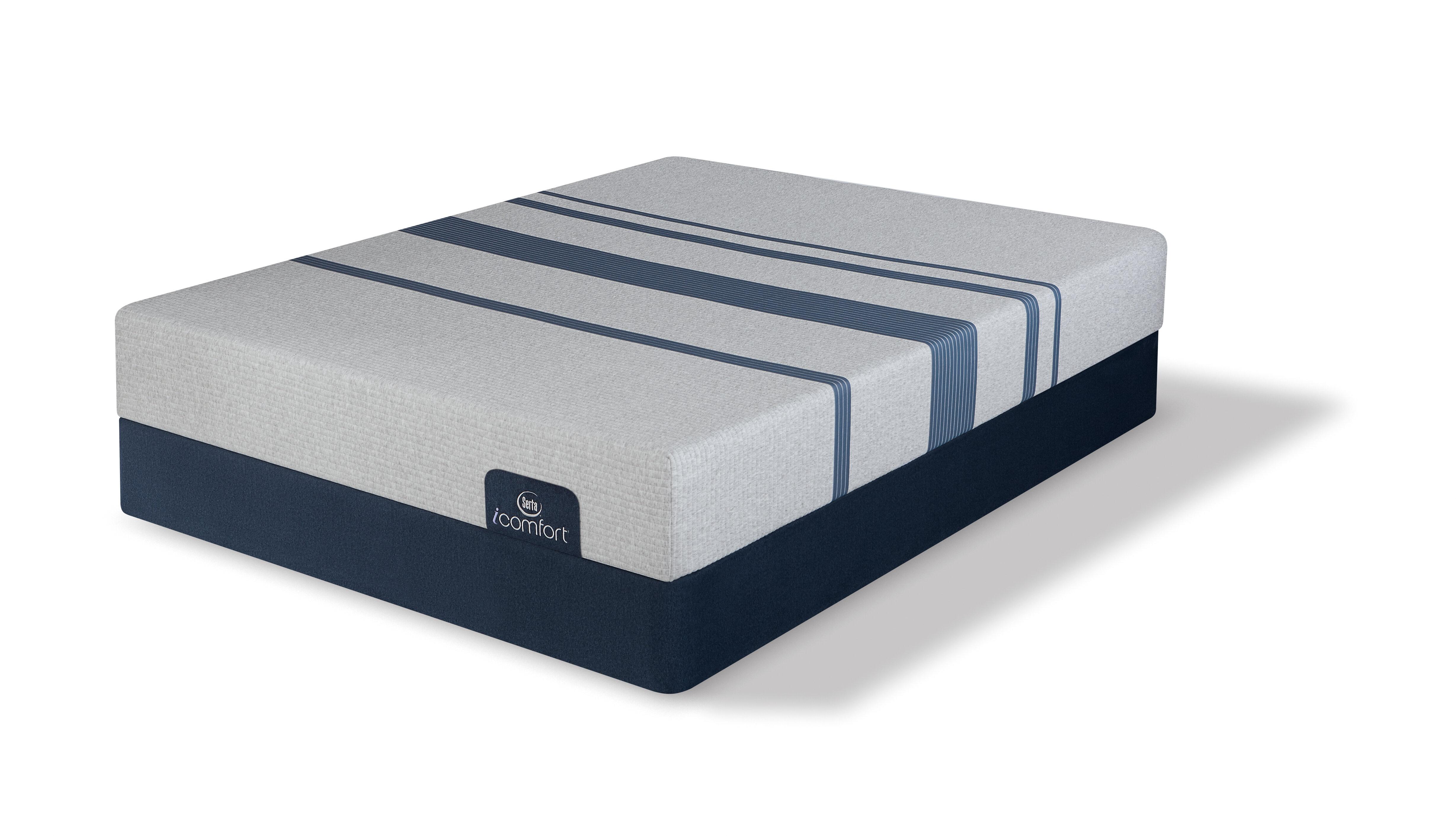 Icomfort 100 10 Firm Gel Memory Foam Mattress And 5 Low Profile