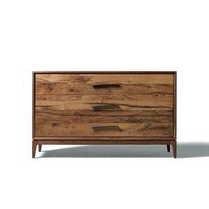 Matteo 3 Drawer Standard Dresser by Yu..
