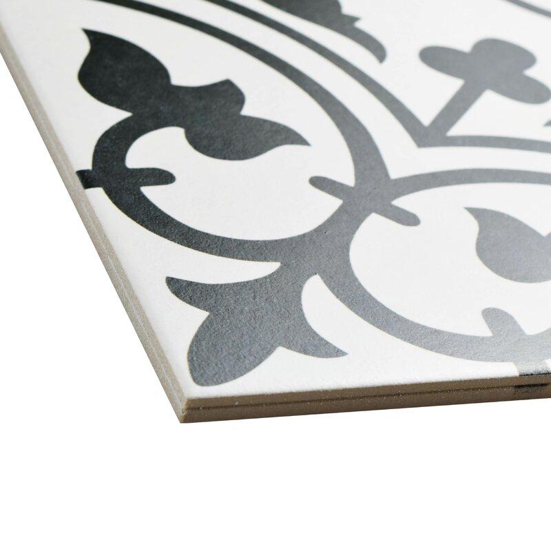 Elitetile Artea 9 75 Quot X 9 75 Quot Porcelain Field Tile In
