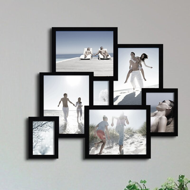 Latitude Run Piland 7 Opening Collage Picture Frame & Reviews | Wayfair