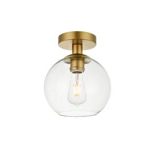 a1928165c603 Modern Flush Mount Lighting | AllModern