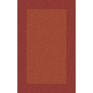 Briargate Rust Solid Area Rug