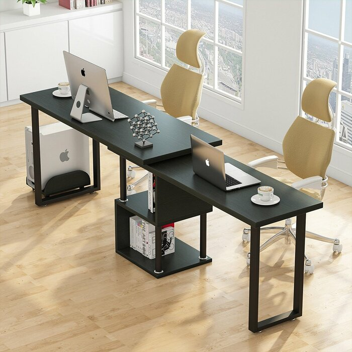 Symple Stuff Brownlee L Shape Computer Desk Wayfair Ca