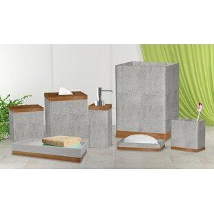 Stone Coloured Bathroom Accessories. Cerny Concrete Stone 7 Piece Bathroom Accessory Set Accessories You ll Love  Wayfair
