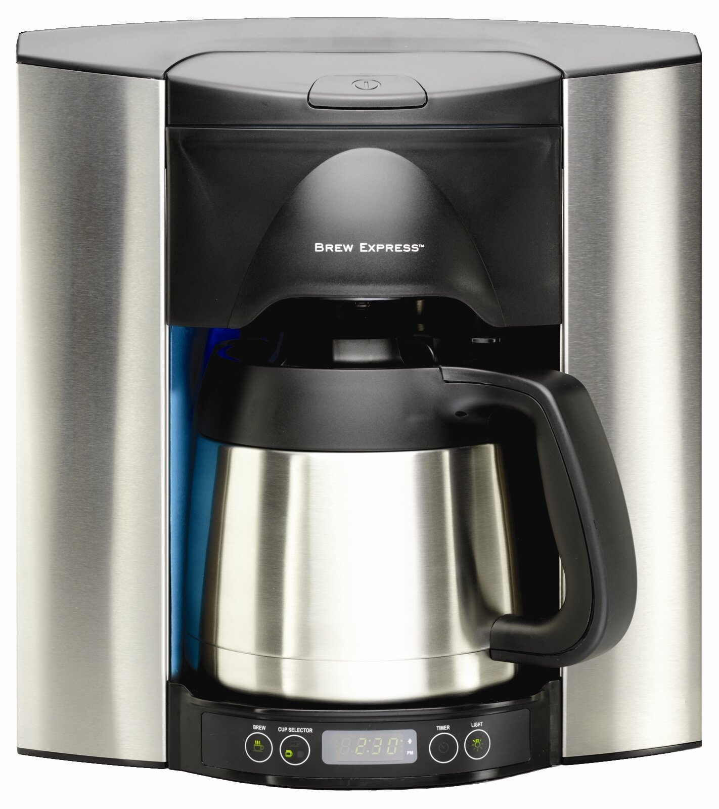 Brew Express 10 Cup Built In The Wall Self Filling Coffee And Hot Beverage System Stainless Steel Finish Reviews Wayfair