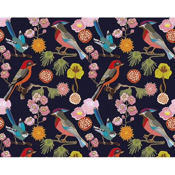 Floral Mural Wallpaper   Wayfair