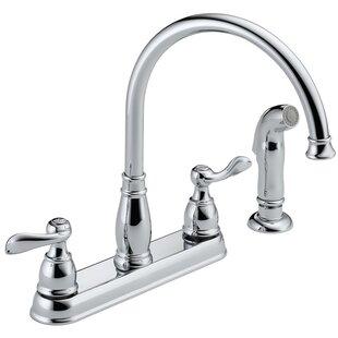 Quickview. Delta. Windemere Double Handle Kitchen Faucet ...