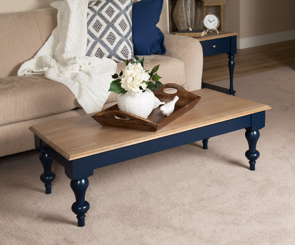 Marvelous Sophia Wood Top Coffee Table