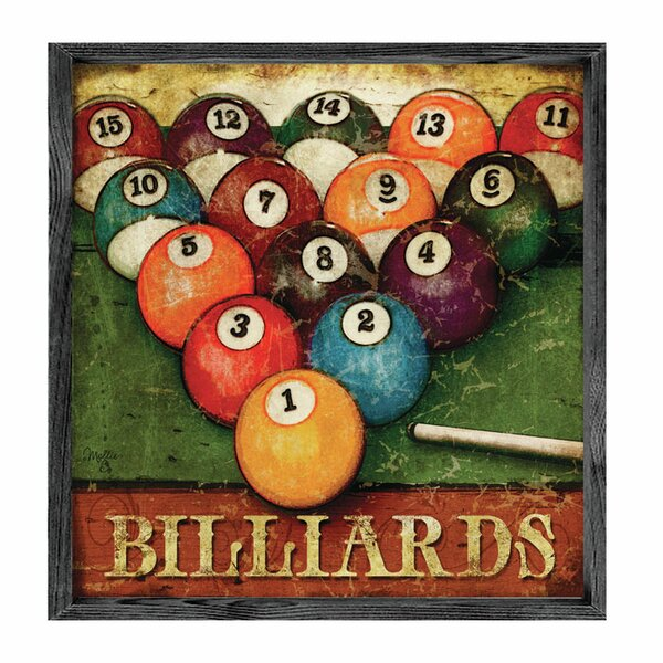 Pool & Casino Wall Art You'Ll Love | Wayfair