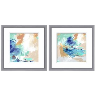 Framed Abstract Art Set