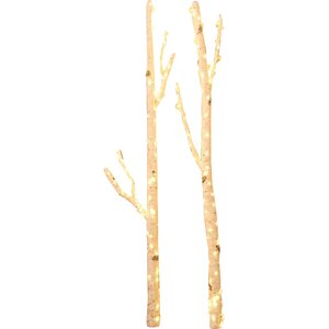 2 Piece Willow Branches with Lights Set