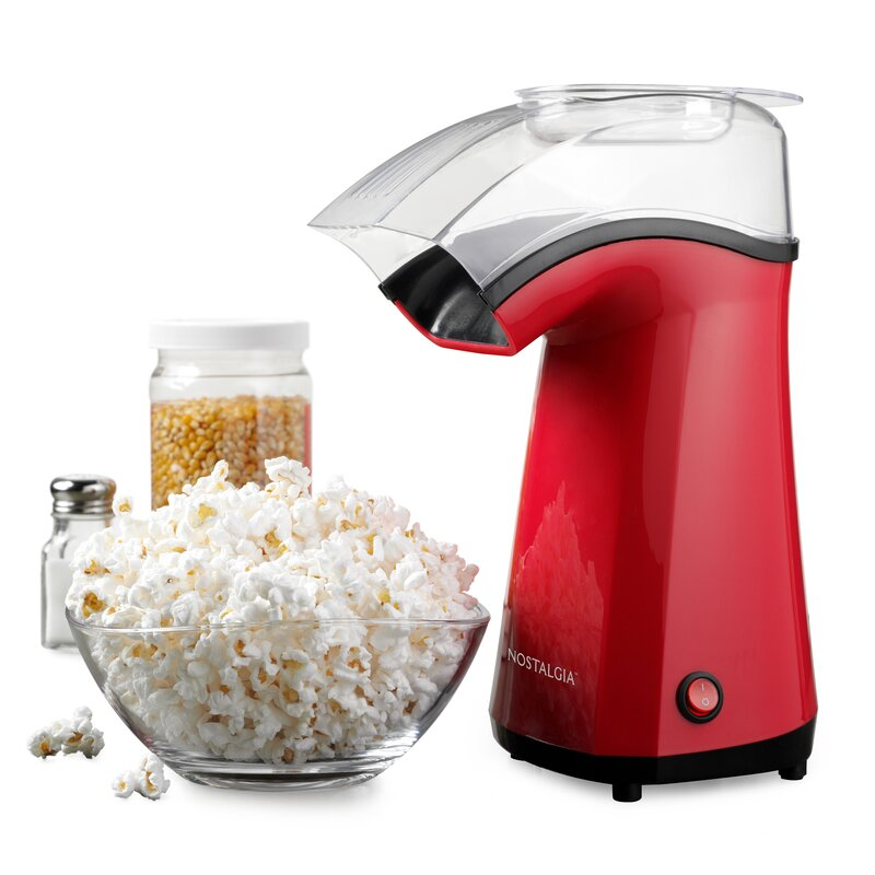 Nostalgia Electrics Hot Air Popcorn Popper Reviews Wayfair