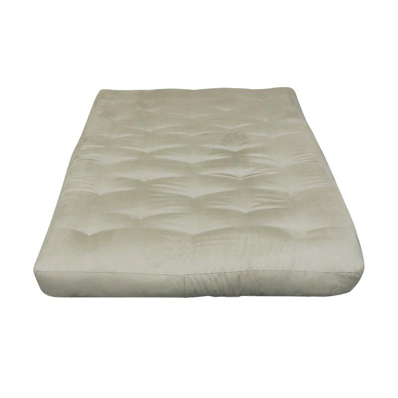 8 Cotton Cot Size Futon Mattress