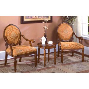 Oreanda 3 Pieces Living Room Armchair Set by Astoria Grand