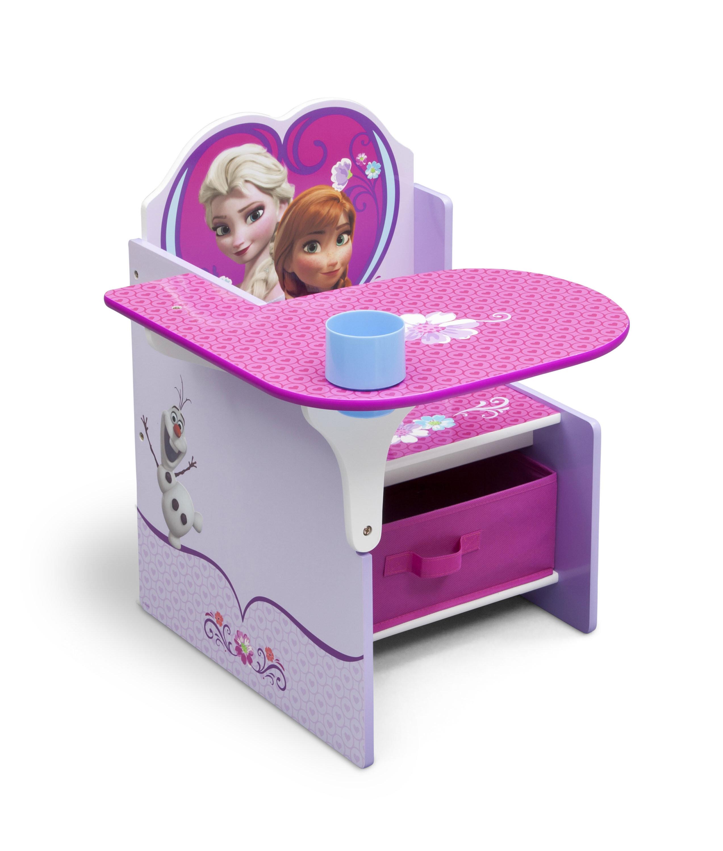 Delta Children Disney Frozen Kids Desk Chair With Storage Compartment And  Cup Holder U0026 Reviews | Wayfair